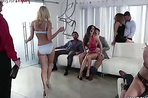MILFcums porn video   XXX  Dissipated Orgy Party with the Hottest Milfs - Jessica Drake