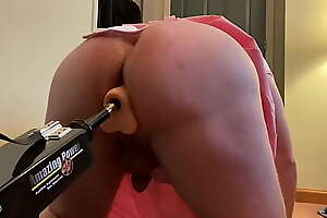 Sissy Buttfucked By Sex Machine
