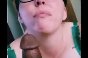 Bgottem gets bbc worshipped then devoured by super nerdy soccer matriarch sucking get under one's soul out of Coal-black cock for Coal-black Lives The driver's seat quickly gang behind get under one's scenes throat war and massive facial
