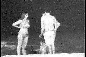Noisome Skinny Dipping at night at the Beach