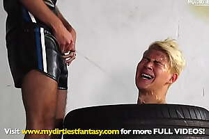 Young queer boys portray hard! Piss, domination, fuck machine, CBT... and more!
