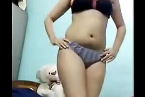 Hot sexy girl stripping#17