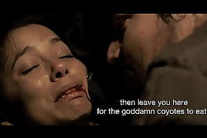 Eva Longoria discouraged in movie Frontera
