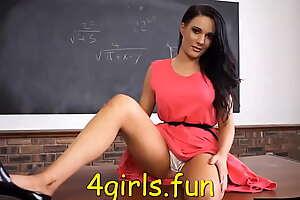 Teacher upskirt in the class Hot crestfallen Legs Pantyhose free sex 4girls.fun