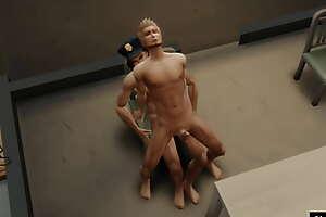 SimusSul: Sims 4 Sexo en deject comisaria 2