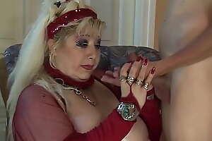 busty bbw mom bottomless gulf fisted by stepson