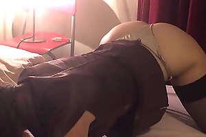 TandA 644 (02) - Satin Dressed Milf Enjoys Getting Her Wet Pussy Filled