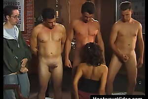 18-year-old ignorance gets fucked by a group of college guys