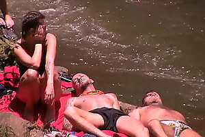 Cicciolina Staller Ilona nude. Hungarian reality TV show.