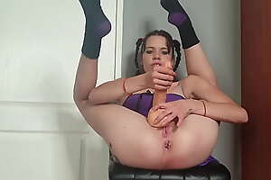 Flexible milf uniformly her cock viewers in any way to jerk off in different positions