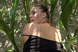 lost german girl needs pickup and pays with her body