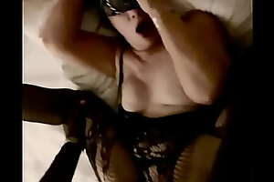 Wife taking bbc deep in will not hear of pussy