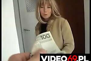 Polskie porno - Bezrobotna Jola robi loda