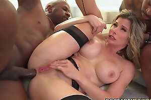 Cuckold Husband Photos As Cory Chase Does Anal With Big Black Cocks