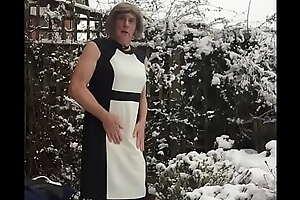 Do a snow job on Scene - Black and White Attire - Johanna Clayton