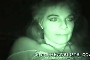 Nightvision hooker interview and trick