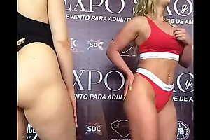 Mia Malkova y Phoenix Marie en Expo sexo México 2019
