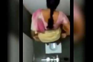 Desi aunty pissing respecting public toilet
