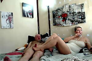 Spouses Aimee roughly an increment of Peter detach from Russia roughly love! )) Blowjob, handjob, footjob, fisting, cowgirl roughly an increment of double dildo show, hot anal orgasm roughly an increment of neglected moans of coitus crazed MILF ...
