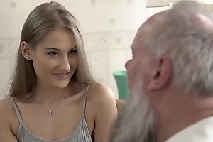 Teen belle vs age-old grandad - tiffany tatum with an addendum of albert