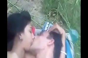 Bhabi acquires fucked open-air by BF