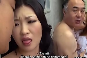 Several Japanese wives realize fucked and facialized like mad easily