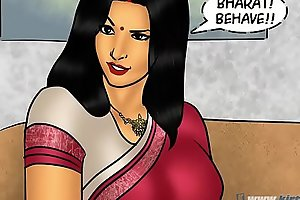Savita Bhabhi Episode 78 - Pizza Administering &ndash_ Supplementary Sausage !!!
