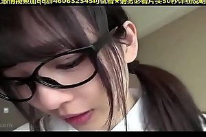 Cute japanese cooky spoken glasses pov (Name please?) from-test2 japan cooky