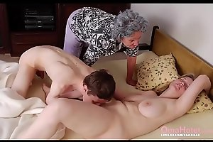 OmaHoteL Grannies Together with Mature Toys Compilation