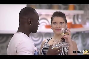 BLACK4K. Interracial sex is truly bonzer gift for Birthday party