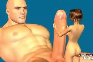 Gaint Dick 3D Fuck