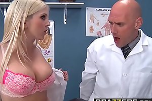 A handful of slutty nurses (Christie Stevens, Jacky Joy) service doctors flannel - BRAZZERS