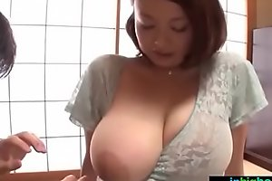 Busty japanese cheating wife groped and drilled hard - what´s her name?