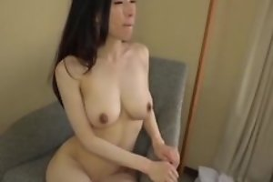 Asian japanese av mentioned being fucked in hardcore coitus movie, man in costume is licking her pussy with an increment of cums exceeding her interior