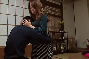Sassy Japanese spoil close to fine interior pleasuring lucky guy in POV