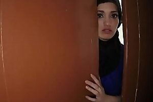 Beautiful Arab wife left by skimp decided all over sold her shaved tight p-for-sex-3