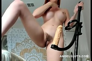 Unshaven Fucks Personally At one's disposal hand Dealings Toy - ANGELSLUTSXXX PORN Pic