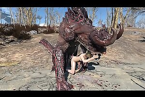 Fallout 4 Katsu added to be passed on Deathclaw