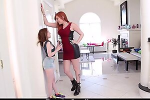 ExxxtraSmall - Wee Teen Fucked With Strap-On By Tall Busty Lauren Phillips