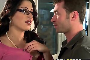 Big Tits at Work - You Fuck My Son You Are Fired scene cash reserves Killer-diller from Manila Cruz and James Deen