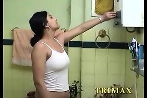 Grown up Indian fuck movie MILF Masturbating In Shower Fucking Her Pussy