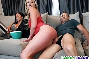 Daddy Fucking His Tiny Daughter - FamilySpankxxx have sex movie