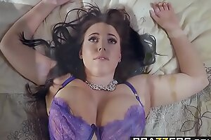 Brazzers - Unmitigated Spliced Stories -  Its A Wonderful Sexual congress Life scene starring Angela Pallid and Charles Der