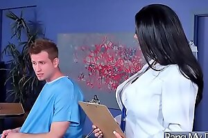 Hardcore Mating Between Bastardize Added to Hot Sluty Patient (Ava Addams) xxx fuck video02