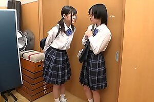 Tiny Young Japanese Butch Schoolgirl Strap-on Fucked and xxx  Abused By Class Mate