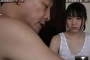 Japanese teen blowjob for pa JAV