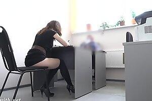 Hidden cam provoke job rub in