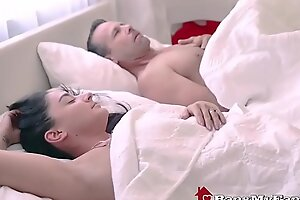Dirty Dad Fucks Slutty Latin babe Stepdaughter In dire straits Wife's About