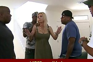 Interracial porn - MILF fucked by chunky black dick awesome sex 9