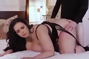 Voluptuous Bbw Anastasia lux fucks married man give say no to lingerie